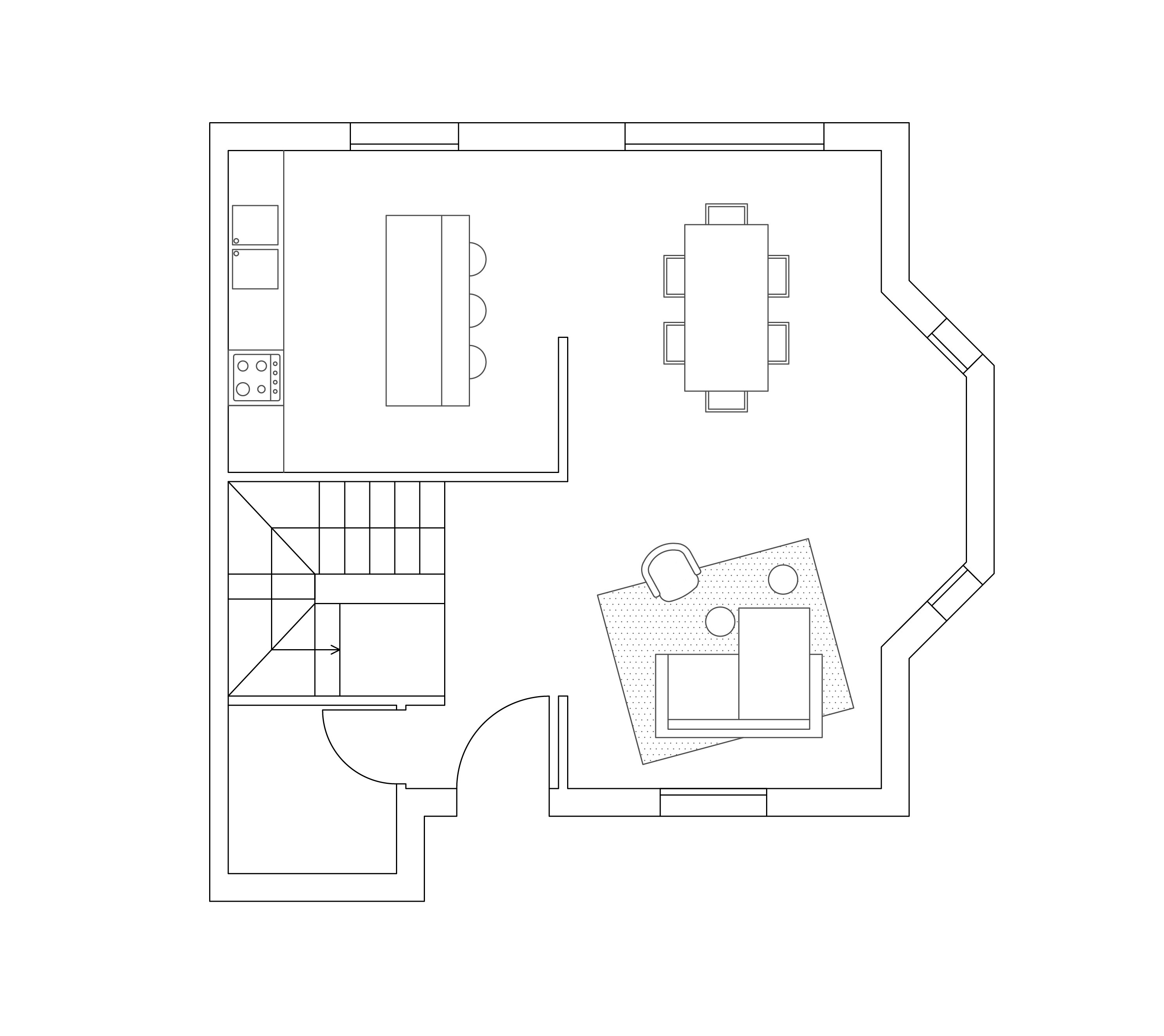 Tribeca - planimetria